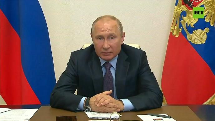 Путин отметил сбой в работе портала госуслуг из-за большого объёма заявок на выплаты на детей