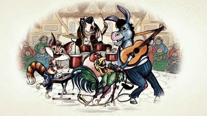 Бабушкины сказки - Бременские музыканты | Мультфильмы для детей