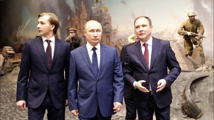 Путин в Музее Победы осмотрел экспозицию о жизни советского народа в годы ВОВ