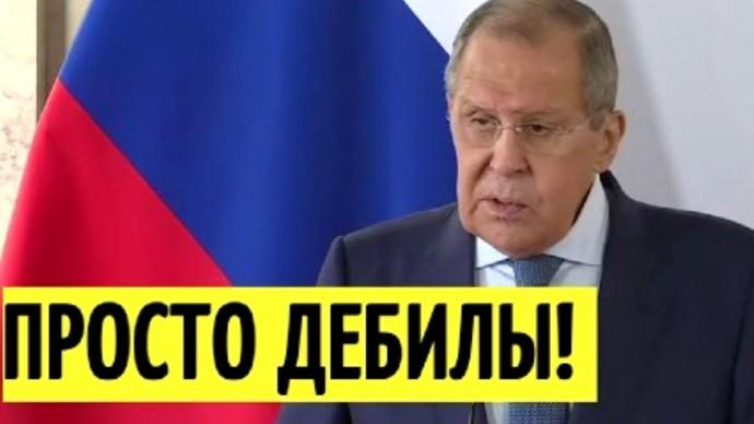 Киев в ИСТЕРИКЕ! Лавров ОТВЕТИЛ на заявления Украины по Крыму!