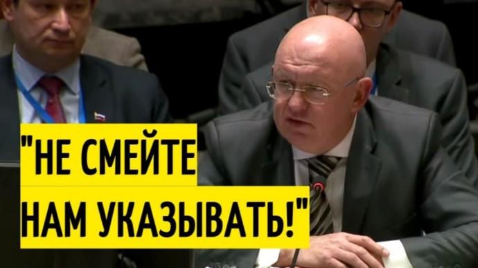 Небензя в ООН РАЗМАЗАЛ заявления Украины и её покровителей!