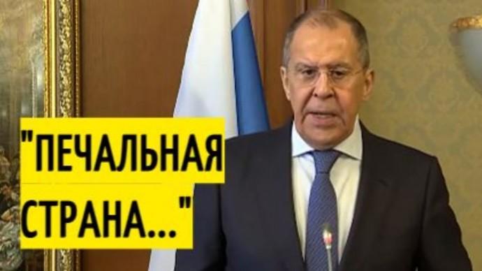 """Срочно! Лавров ОТВЕТИЛ на критику США в отношении """"Спутника V"""""""