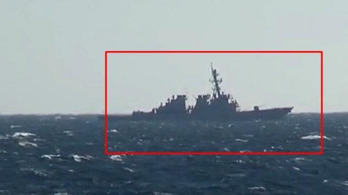 Срочно! Американский эсминец «Джон Маккейн» вторгся в российские воды!
