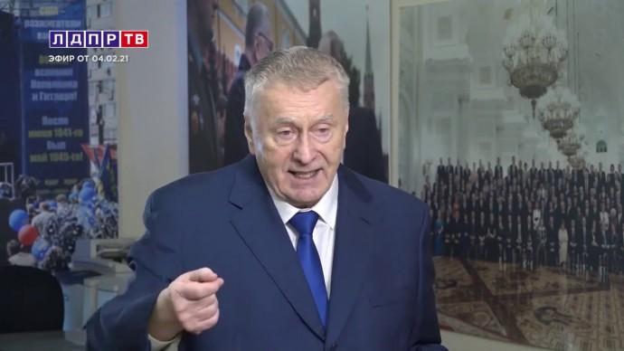"""""""Хотят РАСШАТАТЬ Россию!"""" Жириновский о том, кто стоит за Навальным"""
