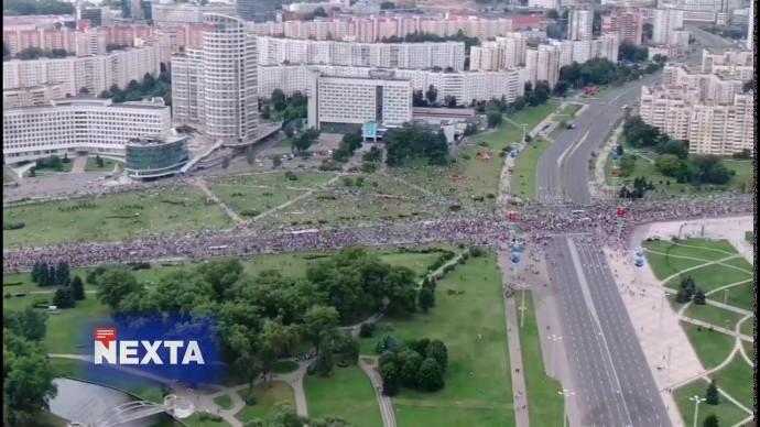Протесты против Лукашенко в Минске. Десятки тысяч вышли на улицы!