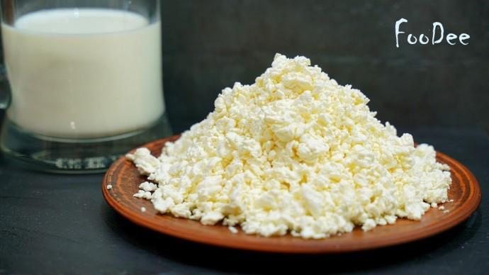 Варим творог в молоке – результат вас точно удивит! Домашний сыр из творога и молока