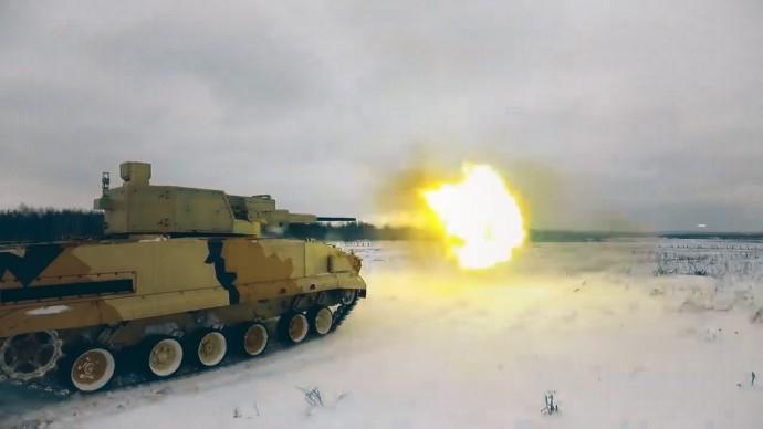 «Байкал» в действии: видео испытаний боевого модуля АУ-220М