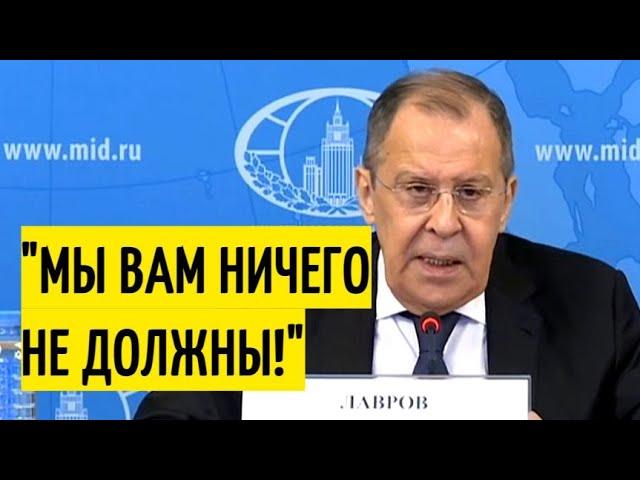 "Срочно! Лавров ЖЁСТКО поставил на место ""обидчивых"" европейцев!"