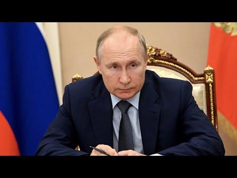 Путин оценил инициативы правительства по национальным целям
