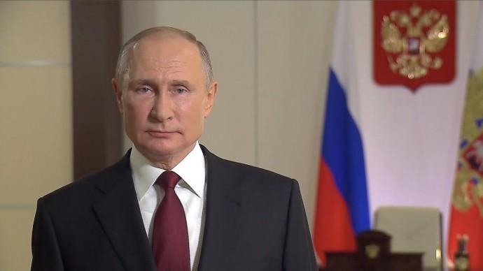 Путин поздравил RT с юбилеем
