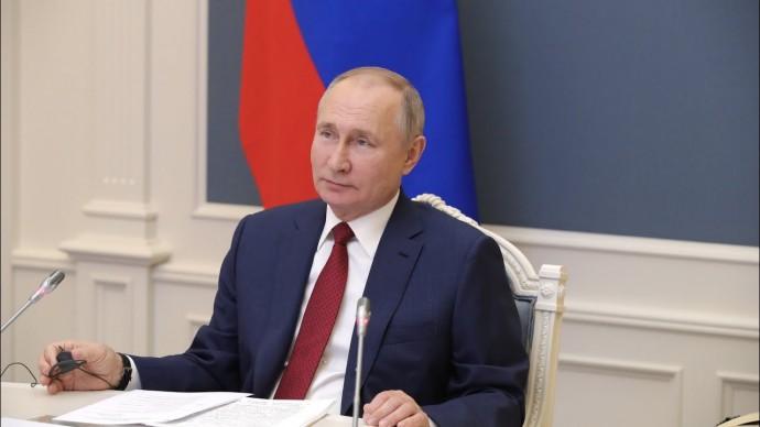 """""""Есть риск столкнуться с борьбой всех против всех"""" Путин выступил на Давосском форуме"""