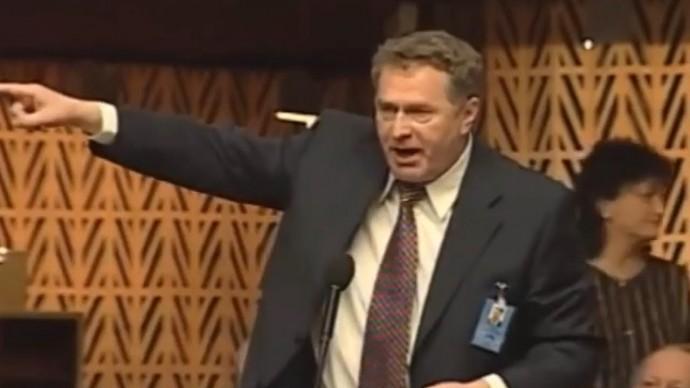 Европа в ШОКЕ! Знаменитая речь Жириновского в Европарламенте!
