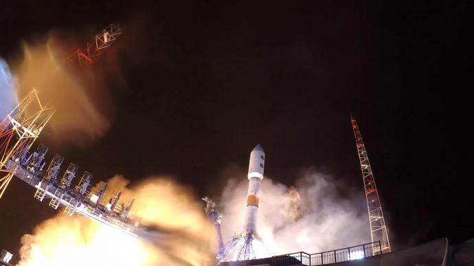 Запуск ракеты «Союз» со спутником «Глонасс» с Плесецка — видео