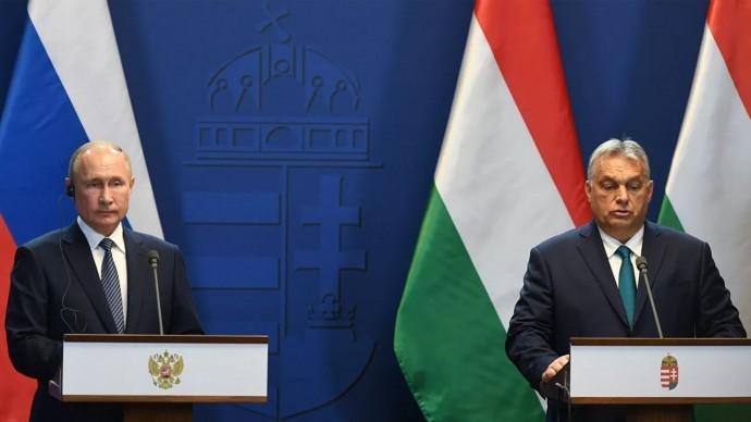 О газе, Украине и НАТО: Путин и венгерский премьер провели переговоры