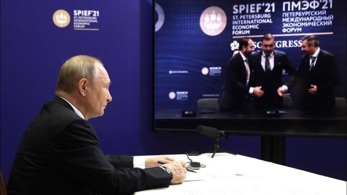 Путин пообещал поддержку бизнесу