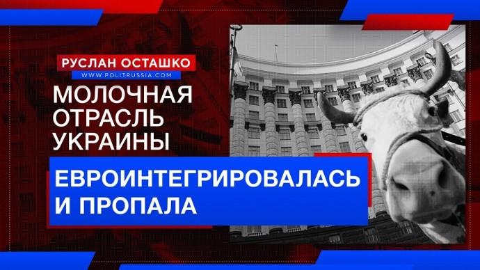 Молочная отрасль Украины евроинтегрировалась (Руслан Осташко)