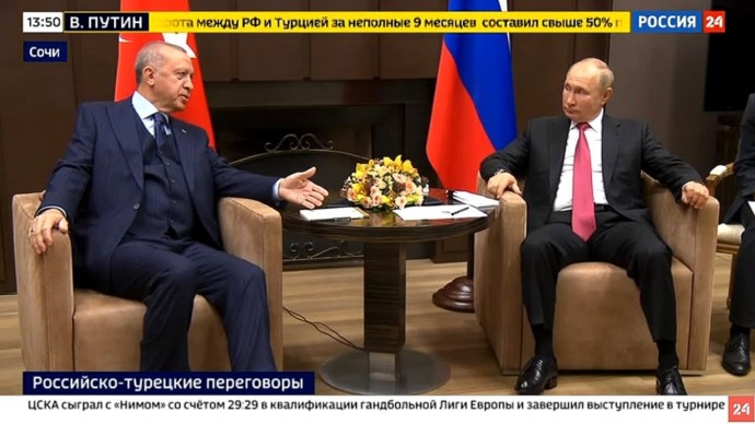 Срочно! Первые ЗАЯВЛЕНИЯ Путина и Эрдогана со встречи в Сочи!