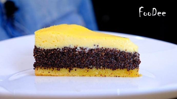 Пирог Три слоя - Очень нежный и вкусный пирог с маком / Маковый пирог