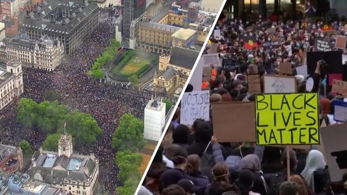 Black Lives Matter: как в мире прошли акции против расизма и жестокости полиции
