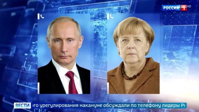 Срочно! Подробности РАЗГОВОРА Путина и Меркель, резкое ЗАЯВЛЕНИЕ Захаровой и оправдания США