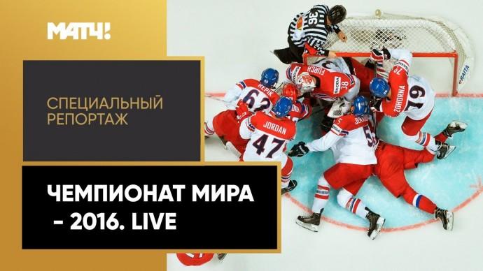«Чемпионат мира - 2016. Live». Специальный репортаж