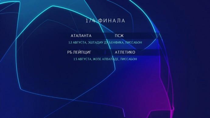 Обзор Лиги чемпионов. 1/4 финала