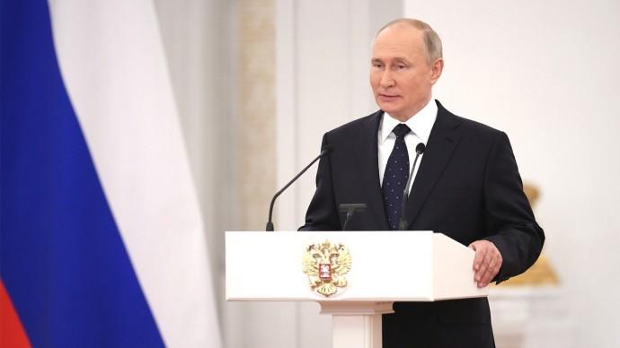 Путин: избиратели на выборах поддержат кандидатов, которые служат Родине