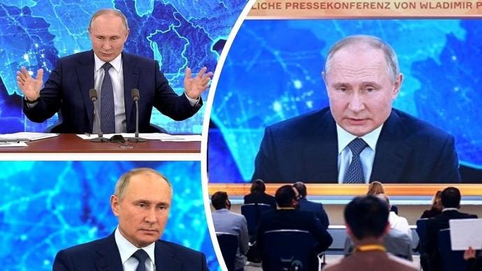 Навальный, Трамп, Дзюба. Лучшие моменты пресс-конференции Путина