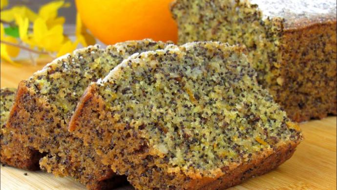Какой же он вкусный! Апельсиновый кекс с маком ☆ Вкусный кекс Без яиц и молока | Subtitles