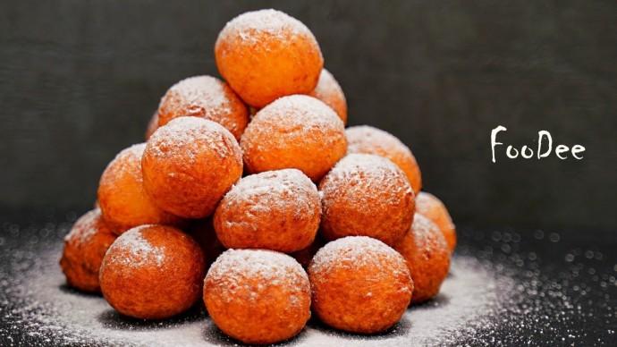 Нежные и мягкие как ПУХ - творожные пончики! Один из лучших десертов из творога