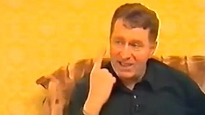 Редкое видео! Жириновский о том, как решить конфликт в Карабахе (1992 год)