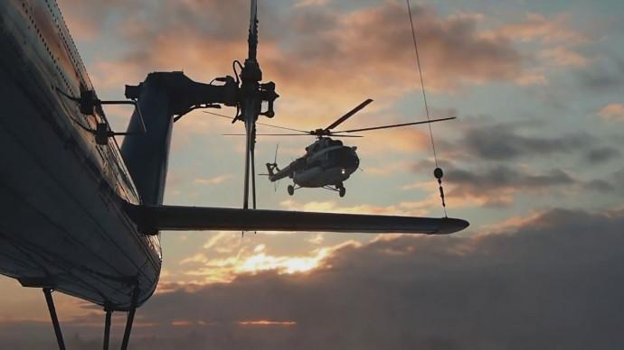 Ещё одна песня о вертолётчиках Севера!