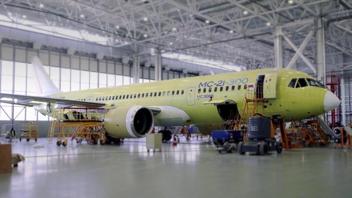 Четвертый опытный самолет МС-21-300 совершил перелет из Иркутска на аэродром ЛИИ им. М.М.Громова