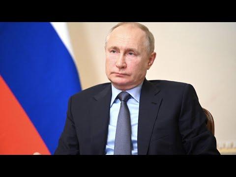 Путин оценил выступление российских спортсменов без флага и гимна страны