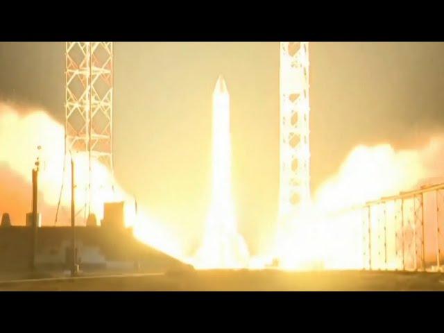 Ракета-носитель «Протон-М» стартовала с Байконура — видео