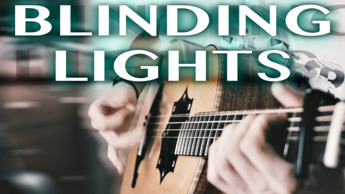The Weeknd - Blinding Lights⎥Eiro Nareth Fingerstyle Guitar Cover