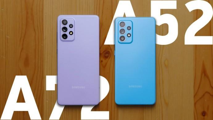Честно о Galaxy A52 и A72 — обзор