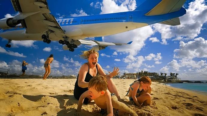 Самый опасный аэропорт мира. Аэропорт Принцессы Юлианы