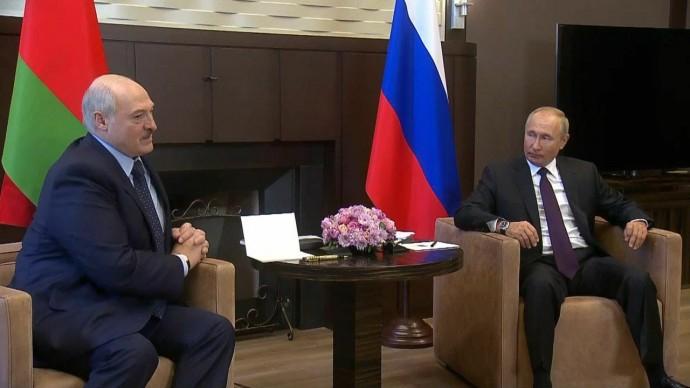 Срочно! Совместное ЗАЯВЛЕНИЕ Путина и Лукашенко по итогам встречи один на один!