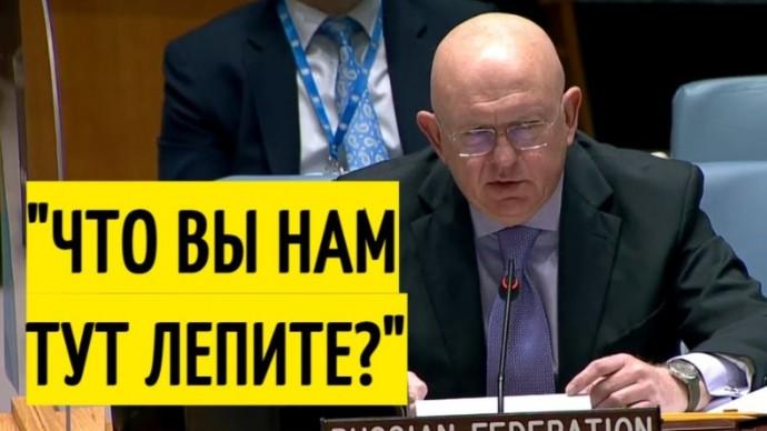 Совбез ООН замолчал! Небензя УНИЧТОЖИЛ лживый доклад Запада!