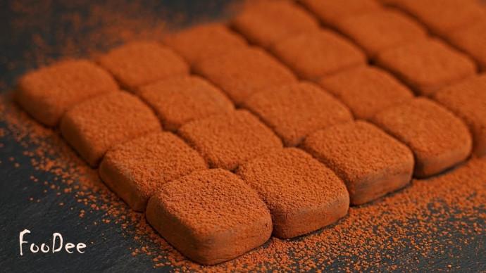 Домашние ТРЮФЕЛИ из 2 ингредиентов – ПРОСТОЙ рецепт шоколадных конфет