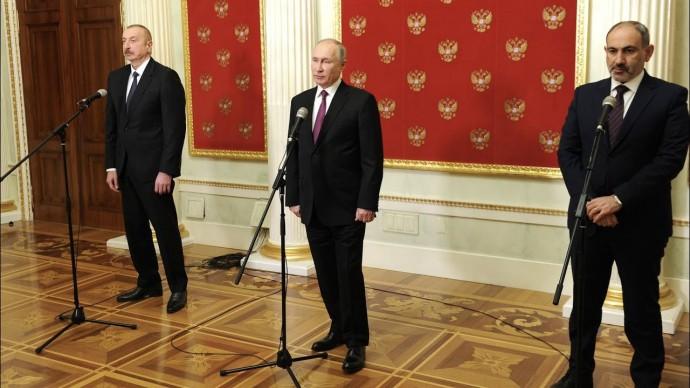 На пользу и Еревану, и Баку: о чем договорились Путин, Пашинян и Алиев