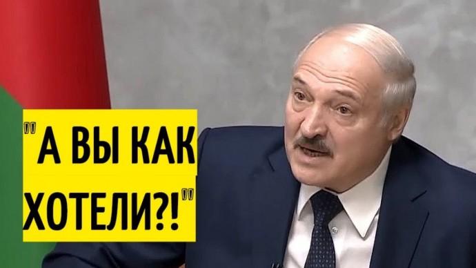 """""""Урки с НАРИСОВАННЫМИ синяками!"""" Лукашенко об избитых ОМОНом протестующих!"""