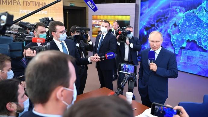 Путин о пандемии, Навальном, Байдене, Сафронове