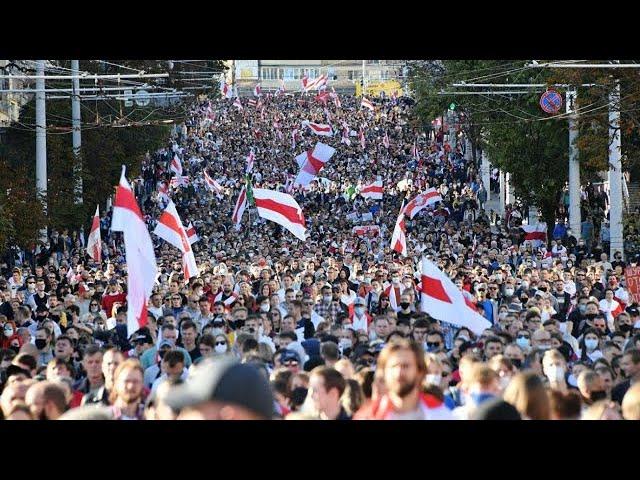 """""""Марш Справедливости"""": в Минске прошел 43-й день протестов против Лукашенко"""