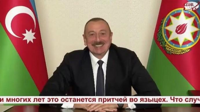 """""""Ну что, Пашинян, где твой статус?"""" Алиев публично высмеял Пашиняна после капитуляции Армении"""