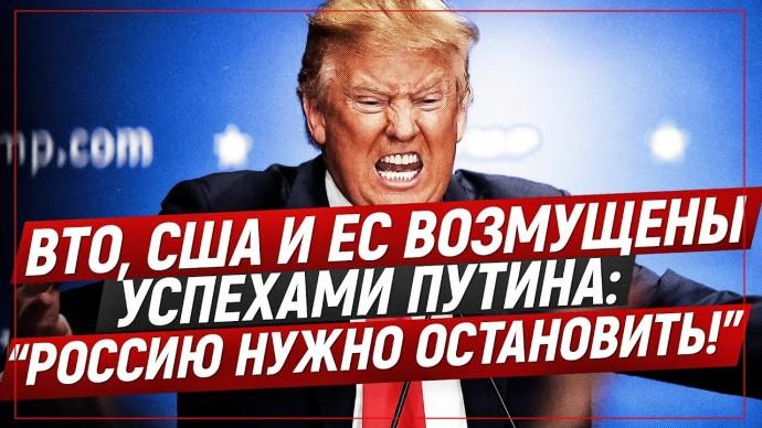"""ВТО, США и ЕС возмущены успехами Путина: """"Россию нужно остановить!"""" (Романов Роман)"""