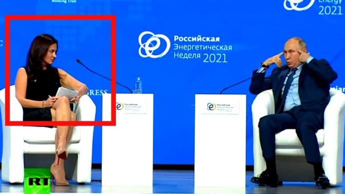 Вы НЕСЁТЕ бред! Путин УНИЧТОЖИЛ глупую журналистку из США!