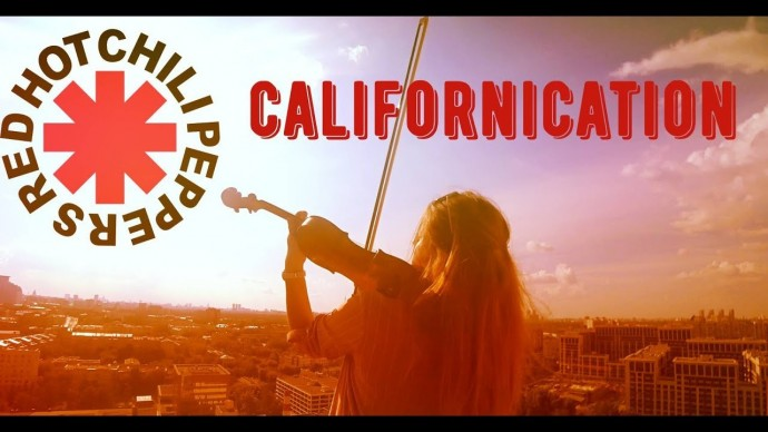 Red Hot chili Peppers - Californication / violin & piano cover