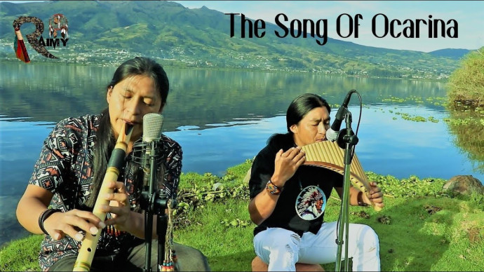 The Song Of The Ocarina - Raimy Salazar & Carlos Salazar (Panflute And Quenacho)